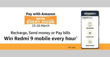 Amazon Pay Redmi 9 contest