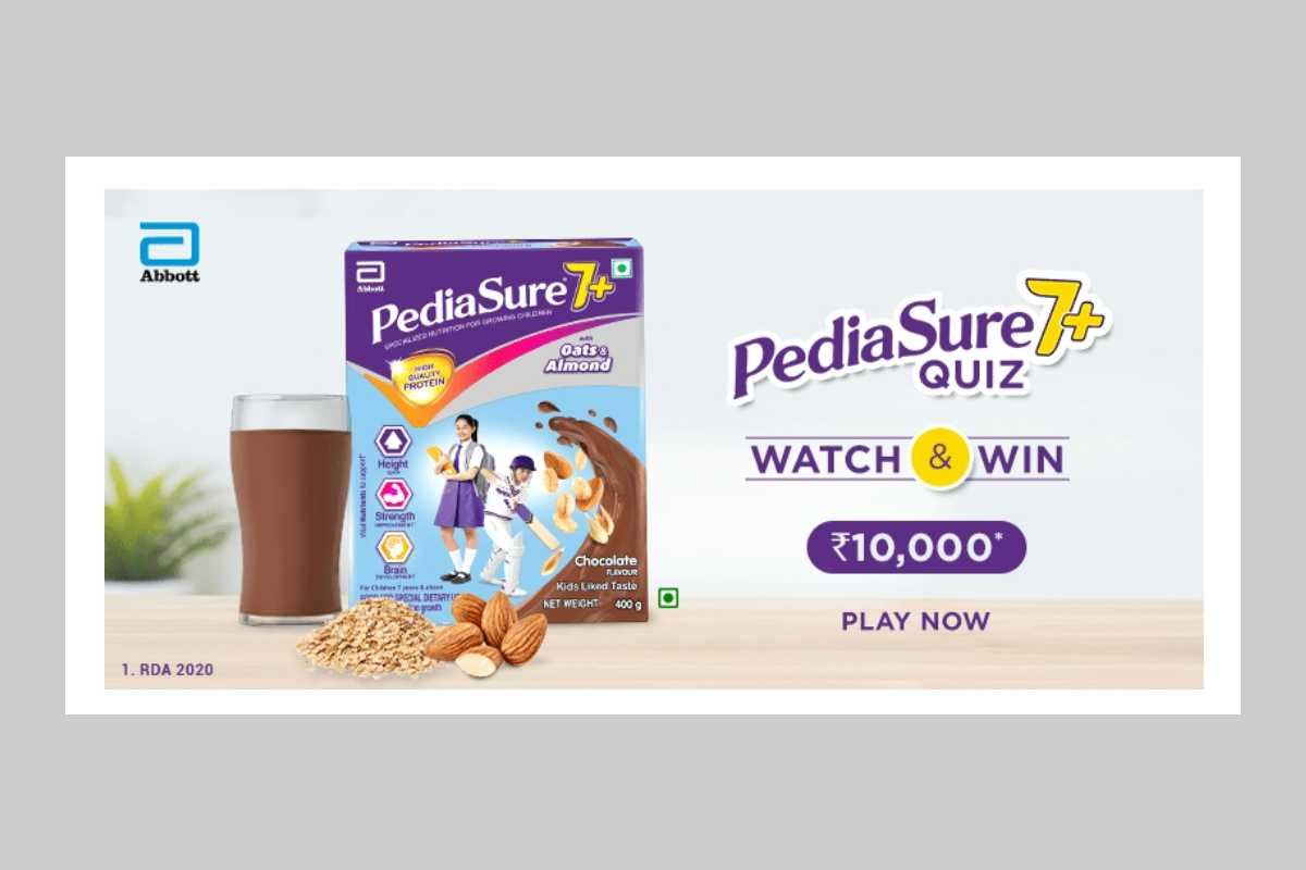 Amazon Pediasure 7+ Quiz