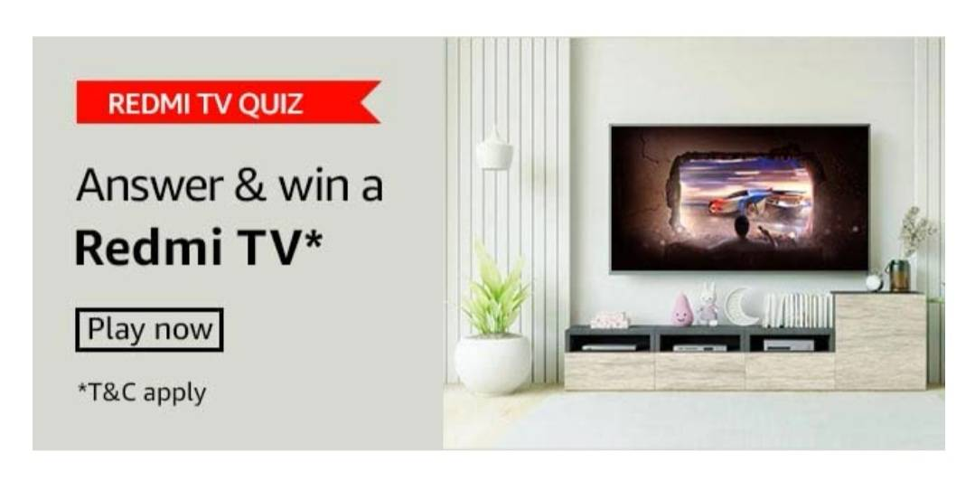 Amazon Redmi TV Quiz