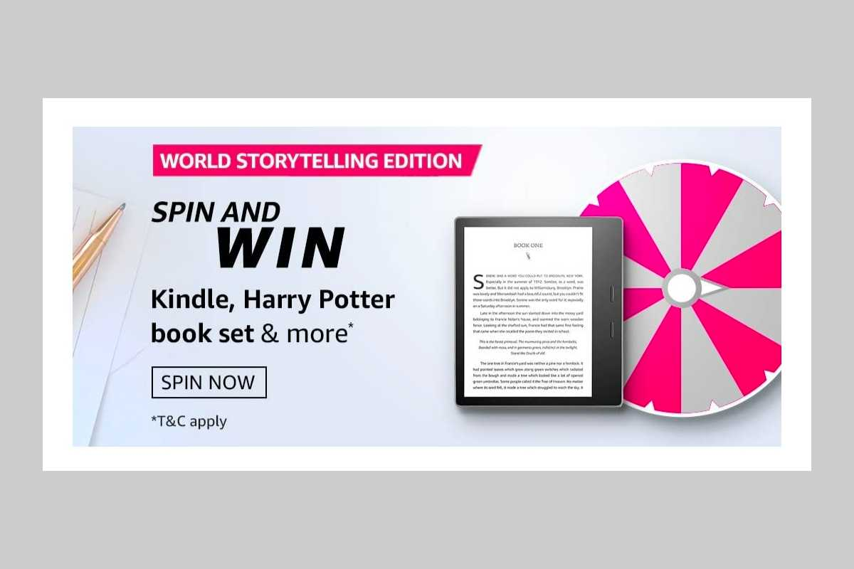 Amazon World Storytelling Edition Spin and Win Quiz