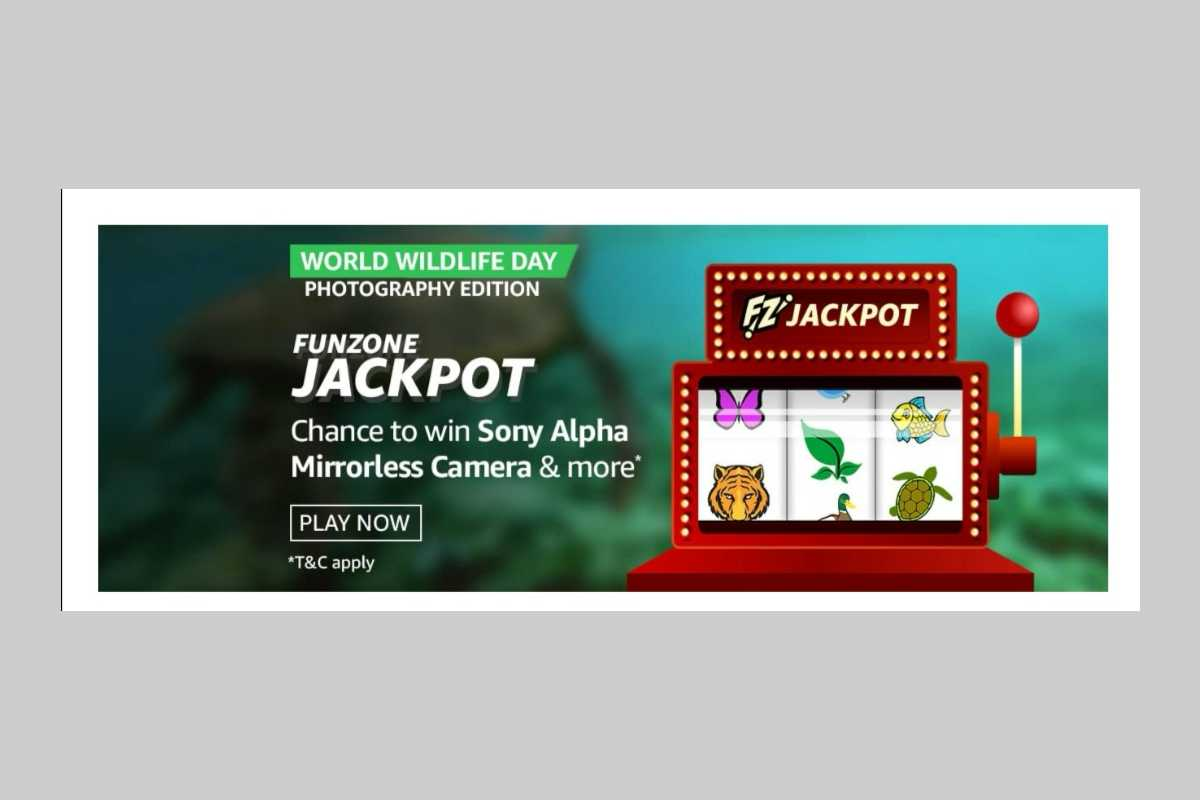Amazon World Wildlife Day Photography Edition Funzone Jackpot Quiz