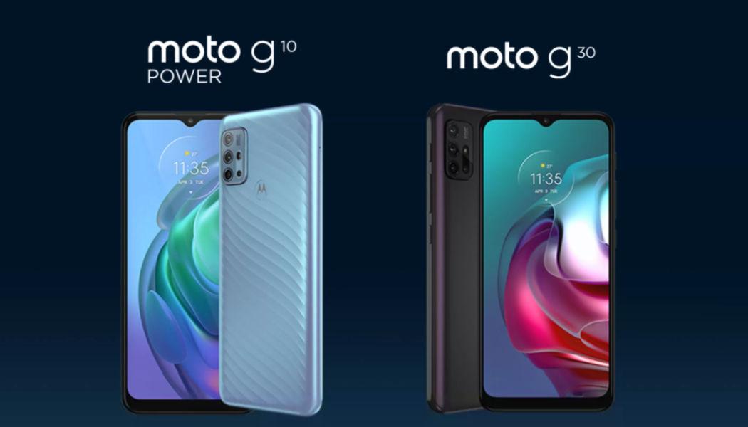 Moto G10 Power and Moto G30-