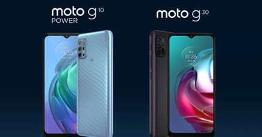 Moto G10 Power and Moto G30