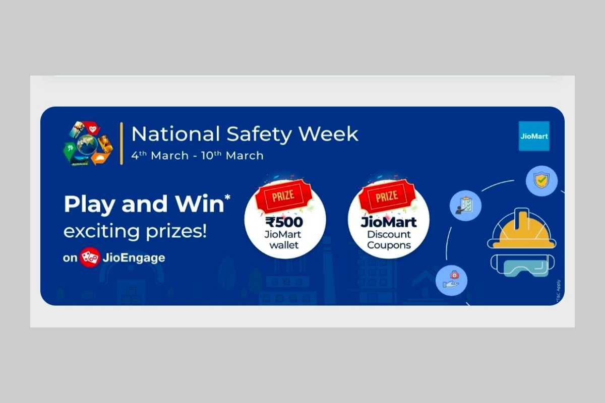 MyJio National Safety Week Quiz