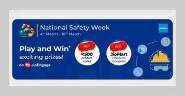 MyJio National Safety Week Quiz