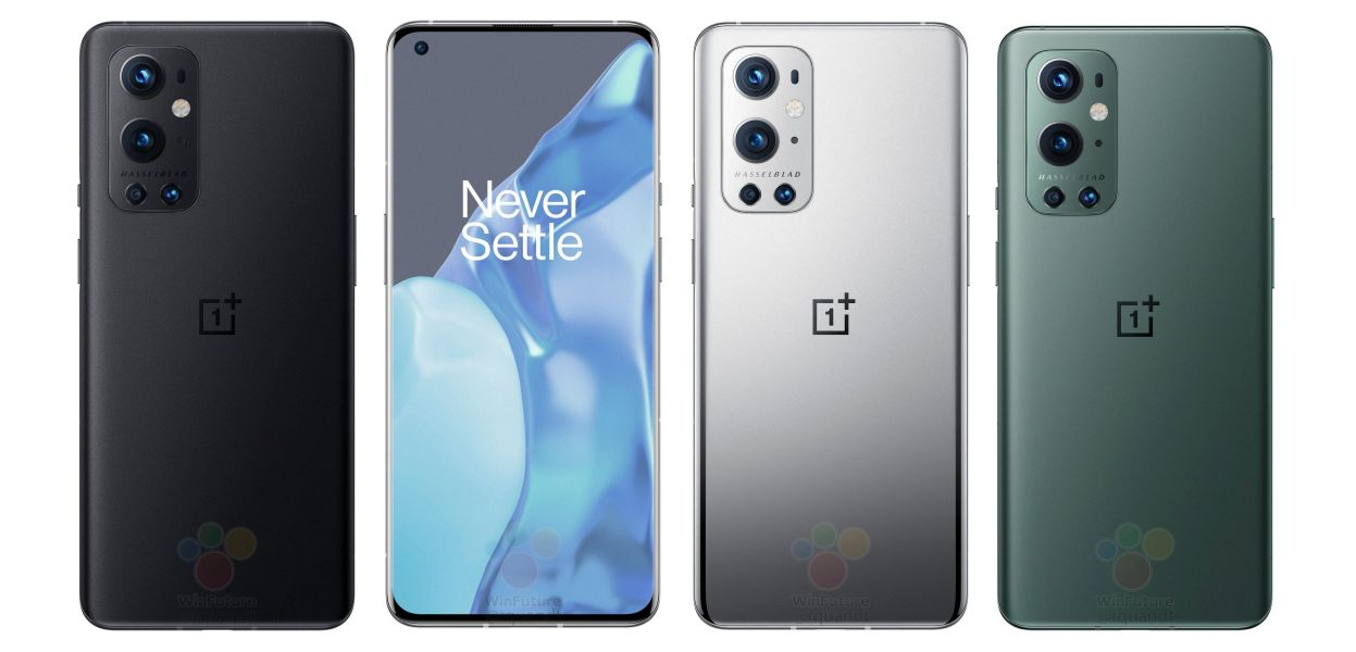 OnePlus 9 Pro official renders leaked