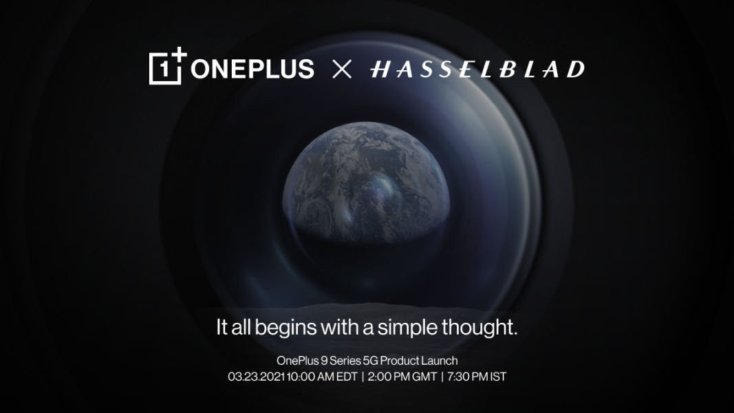 OnePlus 9 series launch date March 23