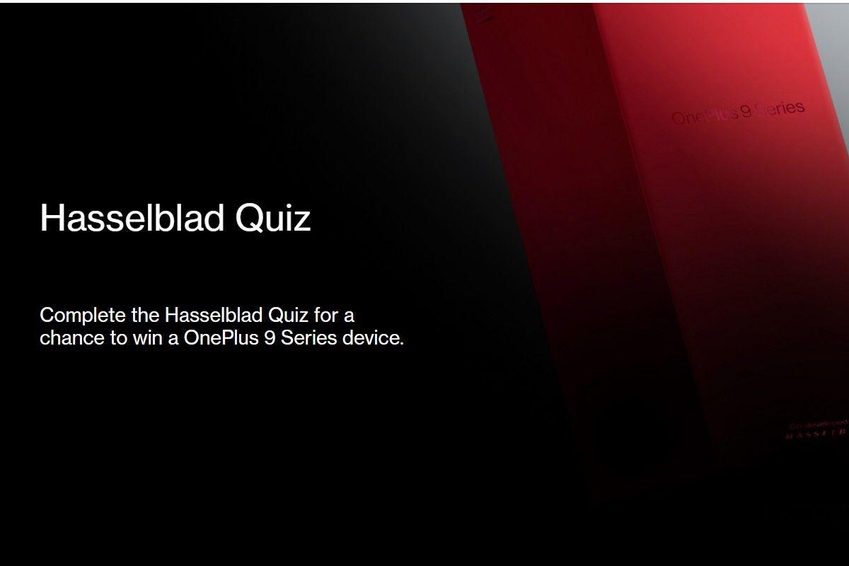 OnePlus Hasselblad Quiz