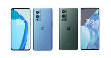 Oneplus 9 and OnePlus 9 Pro official renders leaked