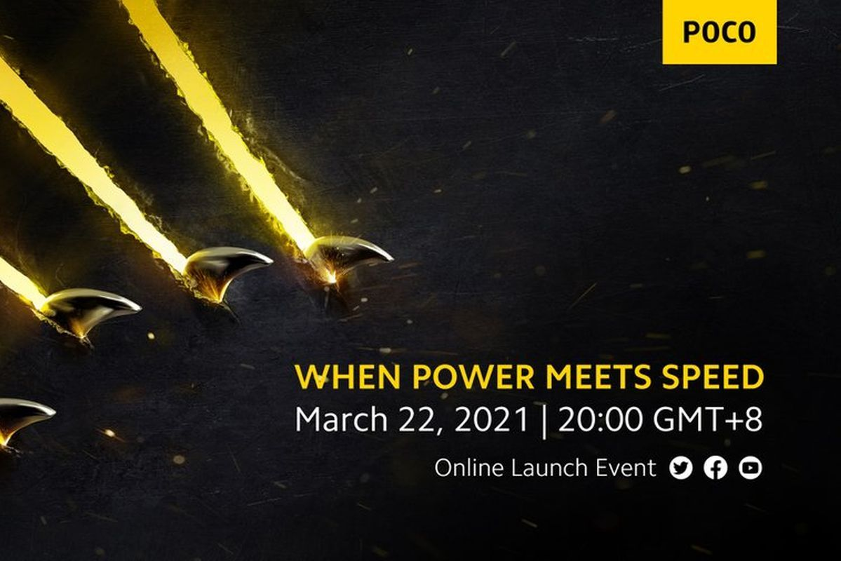 POCO's March 22nd launch event