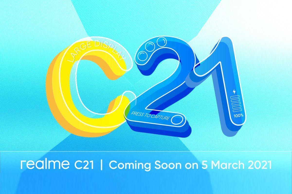 Realme C21 launch date