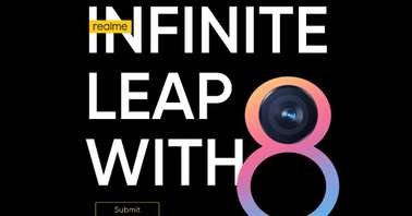 Realme Infinite Leap with 8 contest