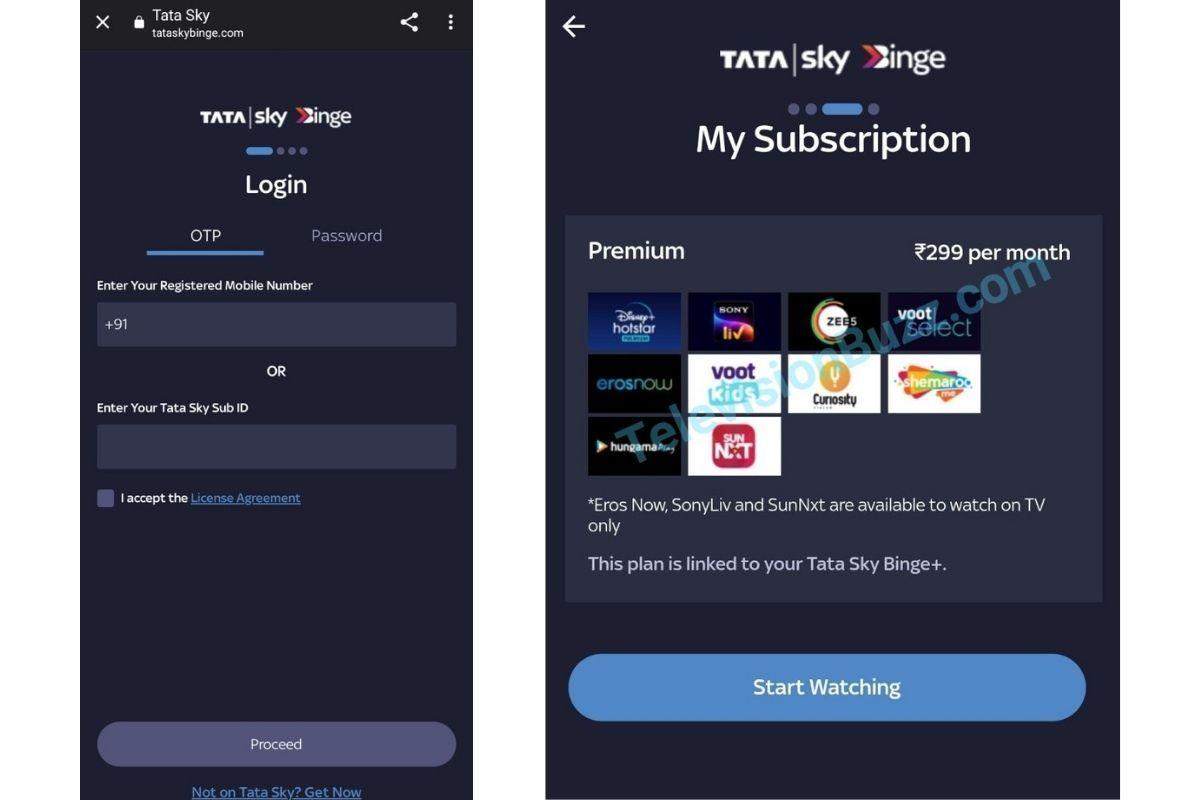 Tata Sky is working on a dedicated Tata Sky Binge app and website