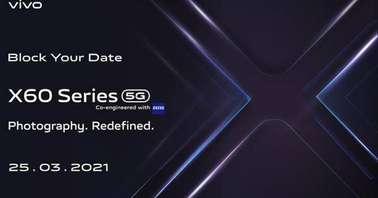 Vivo X60 launch date