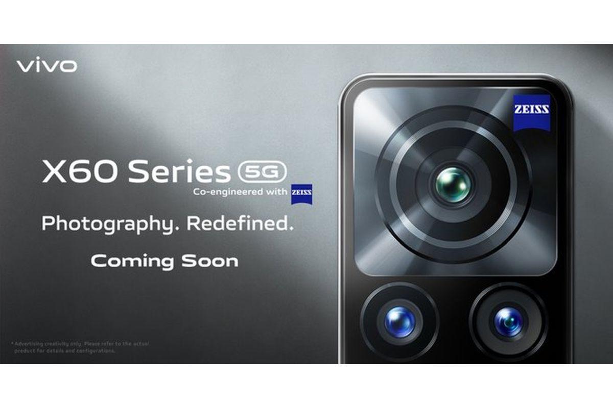 Vivo X60 series coming soon in India
