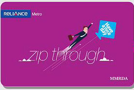 Mumbai Metro card can be recharged online on Reliance website
