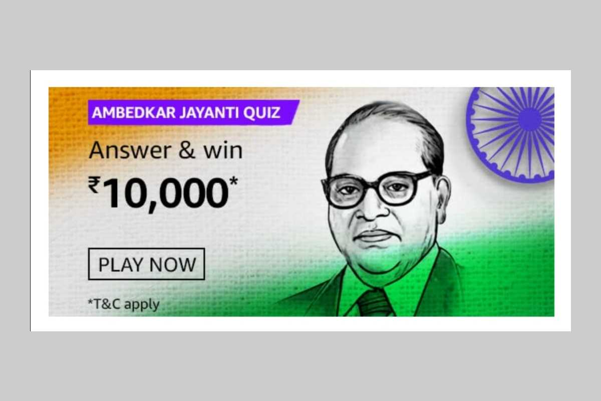 Amazon Ambedkar Jayanti Quiz