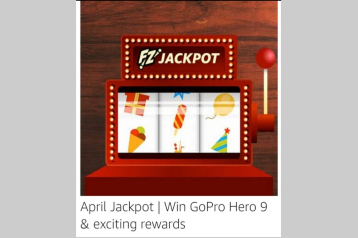 Amazon April Jackpot Quiz