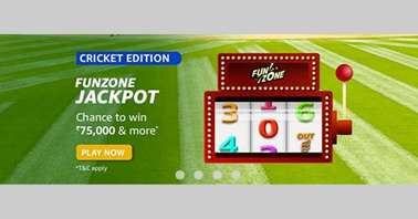 Amazon Cricket Edition Funzone Jackpot Quiz