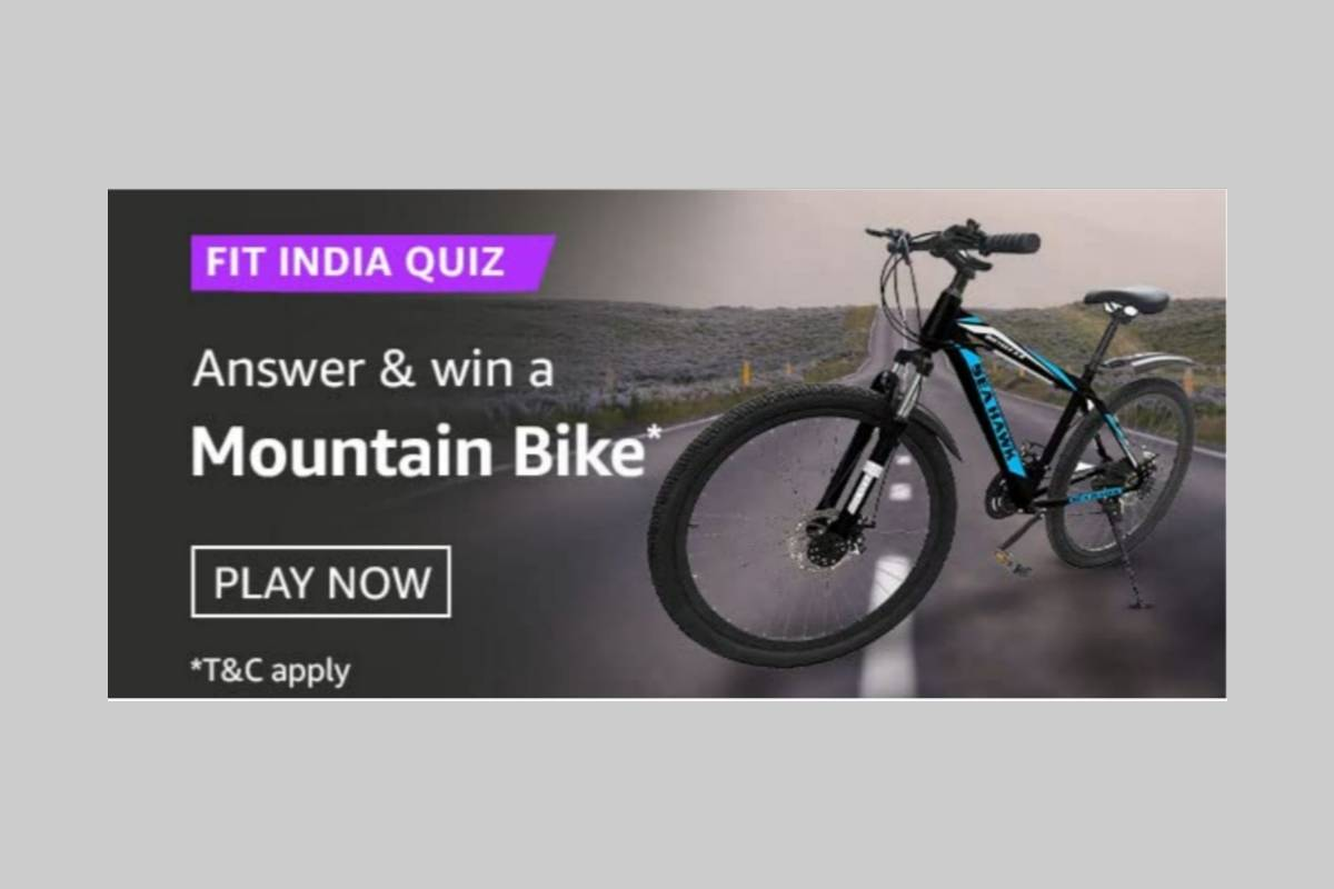 Amazon Fit India Quiz