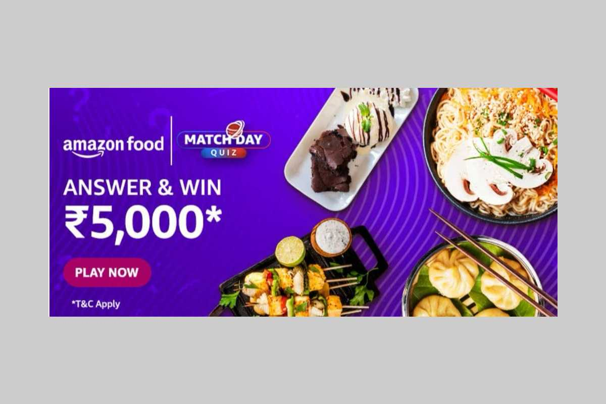 Amazon Food Match Day Cricket Quiz
