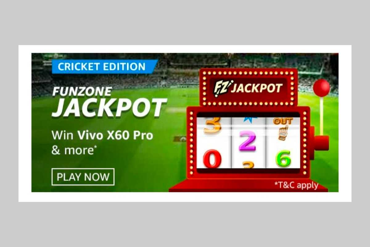 Amazon Funzone Jackpot Cricket Edition Quiz