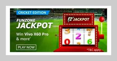 Amazon Funzone Jackpot Cricket Edition Quiz