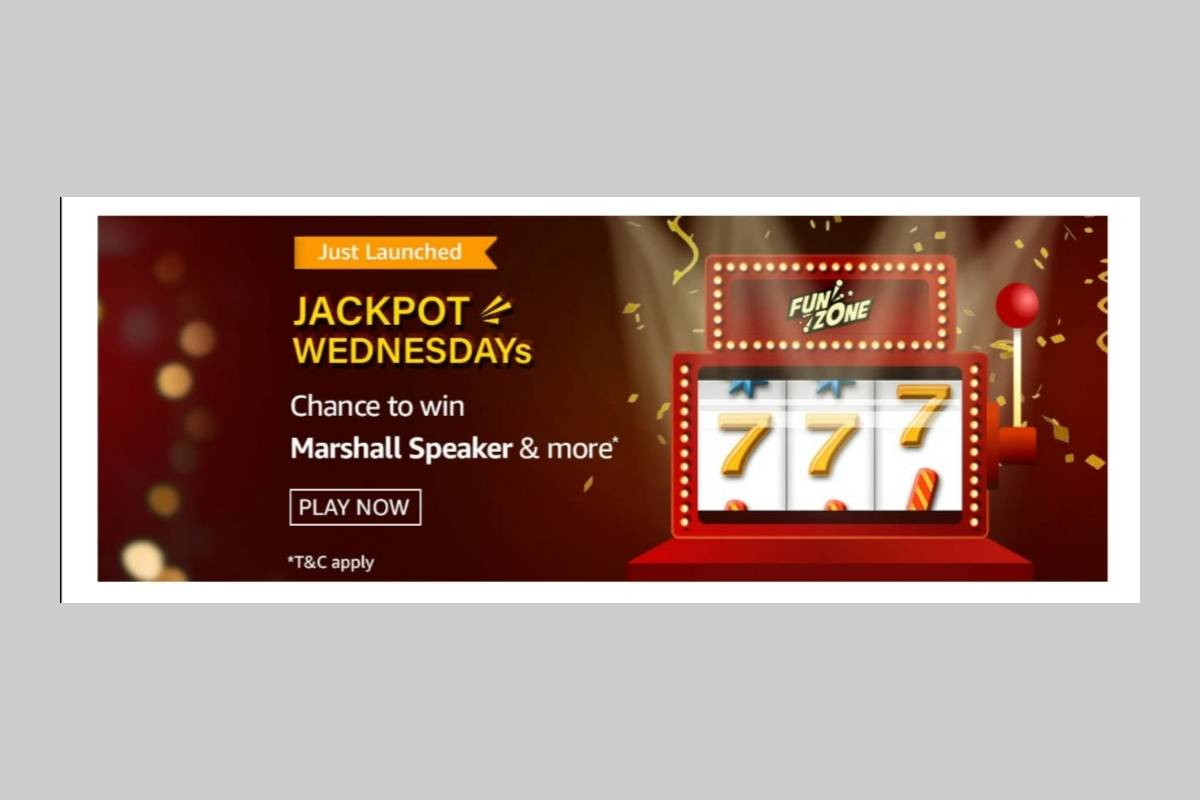 Amazon Jackpot Wednesdays Quiz