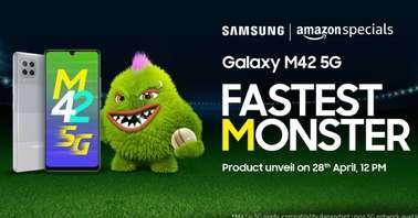 Amazon Samsung Galaxy M42 5G Contest