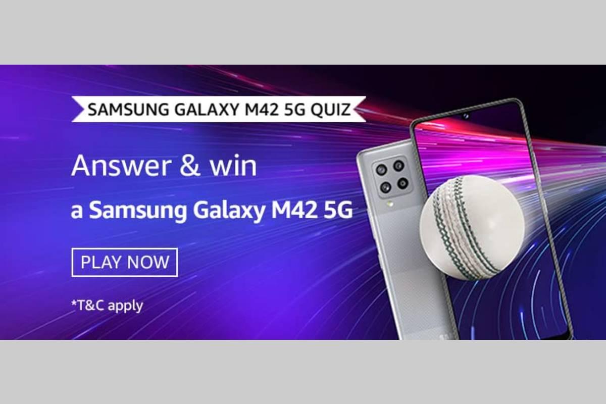 Amazon Samsung Galaxy M42 5G Quiz