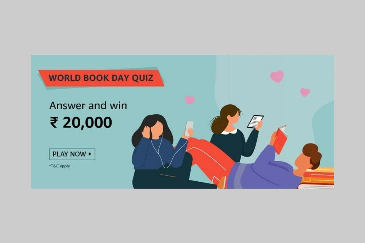 Amazon World Book Day Quiz