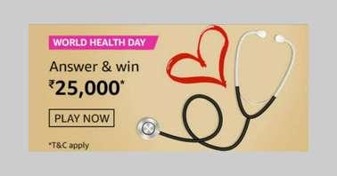 Amazon World Health Day Quiz