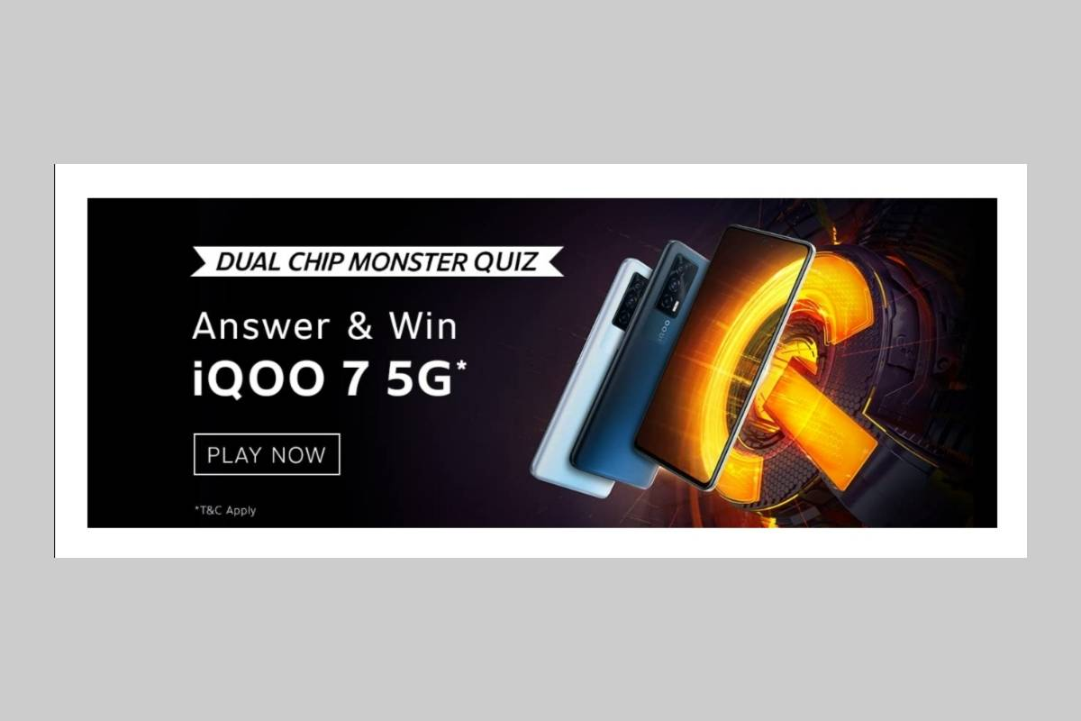 Amazon iQOO 7 Dual Chip Monster Quiz