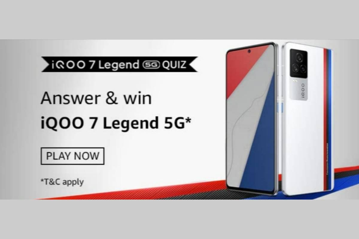 Amazon iQOO 7 Legend 5G Quiz