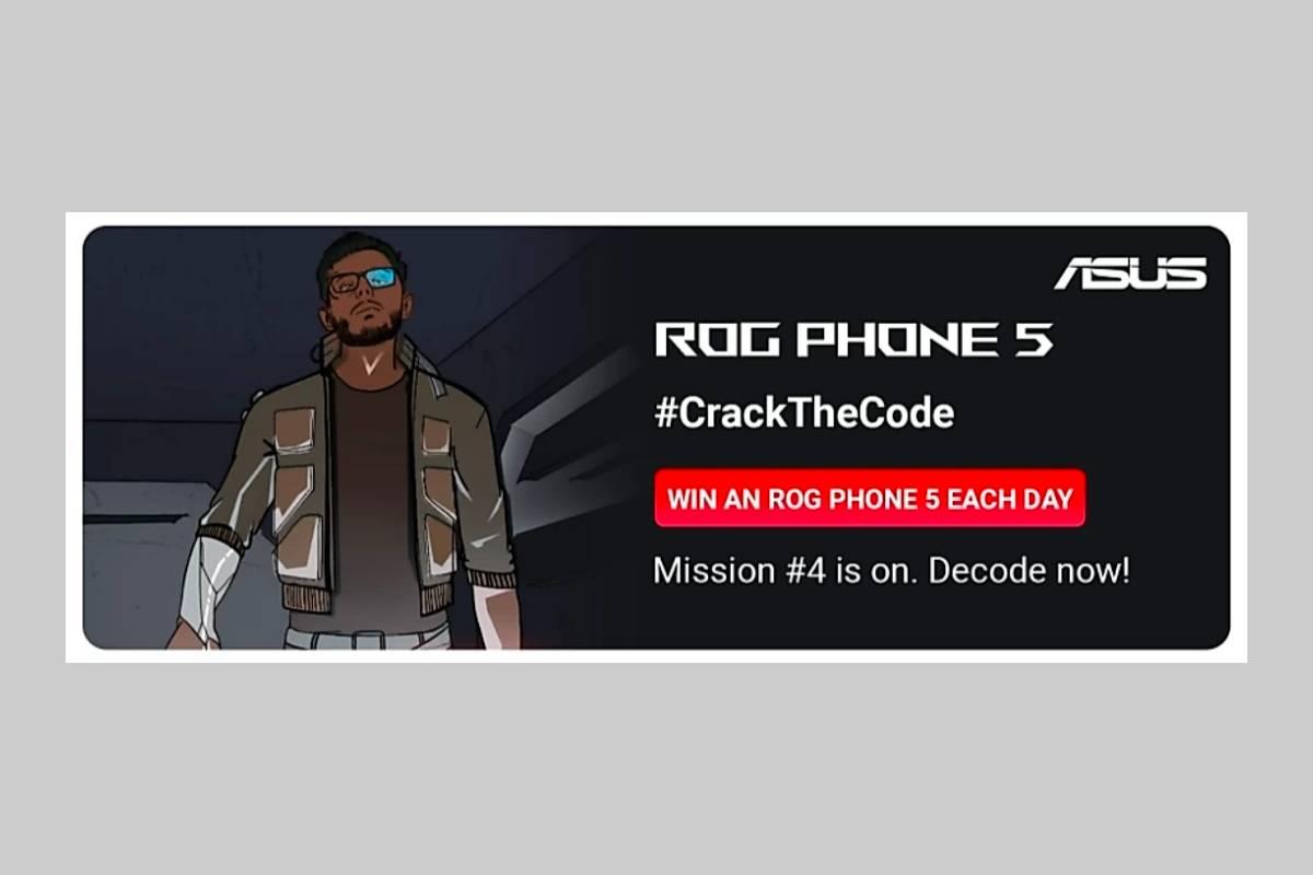 Asus ROG Phone 5 #CrackTheCode Flipkart Contest