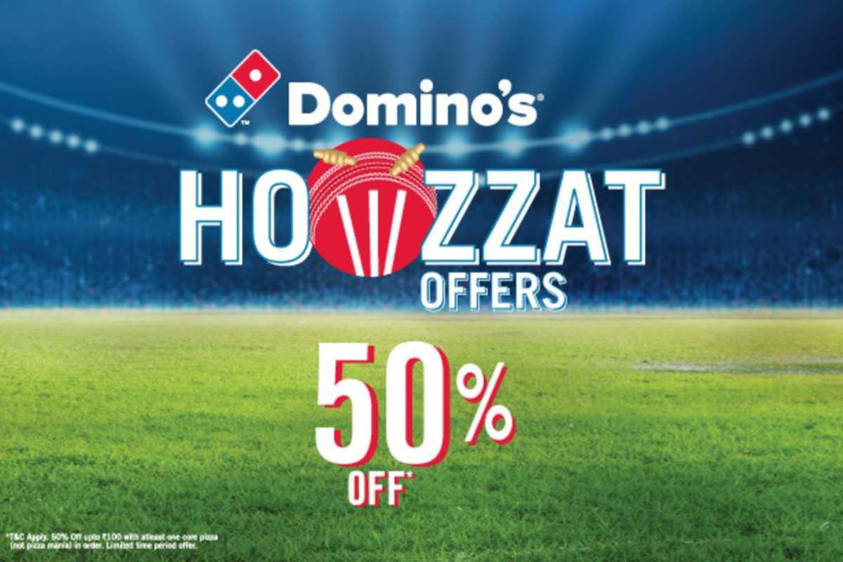 Dominos Howzzat Offer