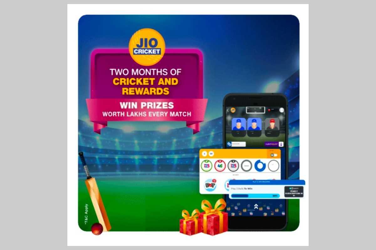 Jio Cricket MyJio App