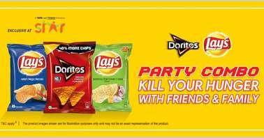 Lays Doritos Party Combo contest