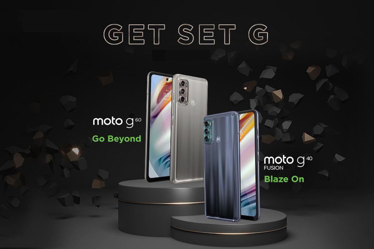 Moto G60 and Moto G40 Fusion