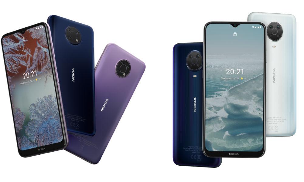 Nokia G10 and Nokia G20