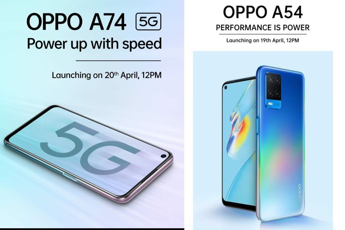 OPPO A74 5G and A54