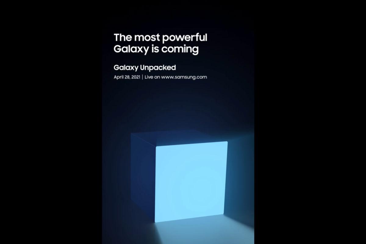 Samsung Galaxy Unpacked April 28 event