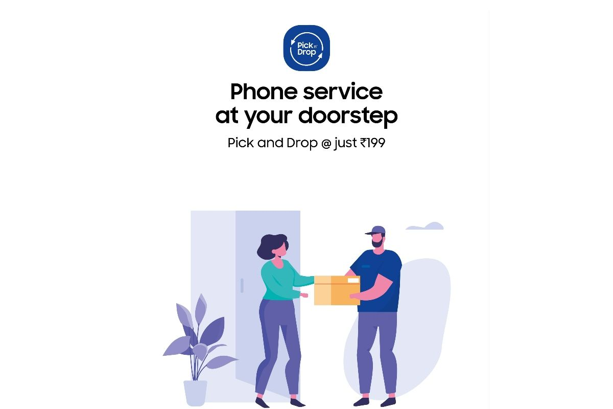 Samsung pick-up and drop