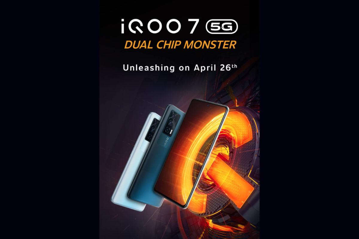 iQOO 7 5G poster