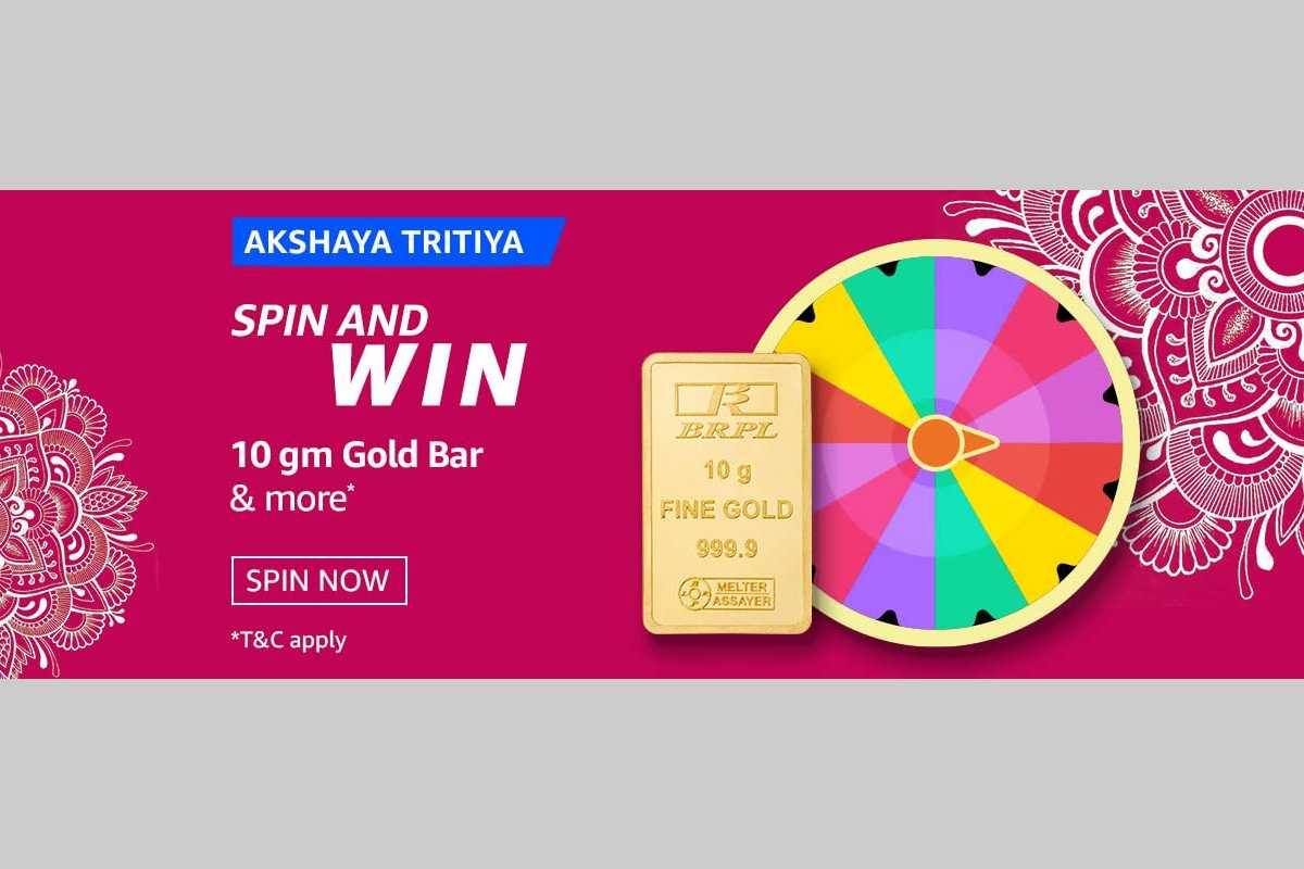Akshaya Tritiya Spin and Win Quiz