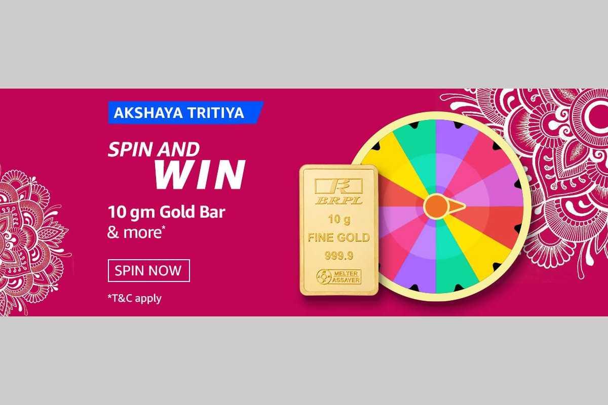 Akshaya Tritiya Spin and Win Quiz