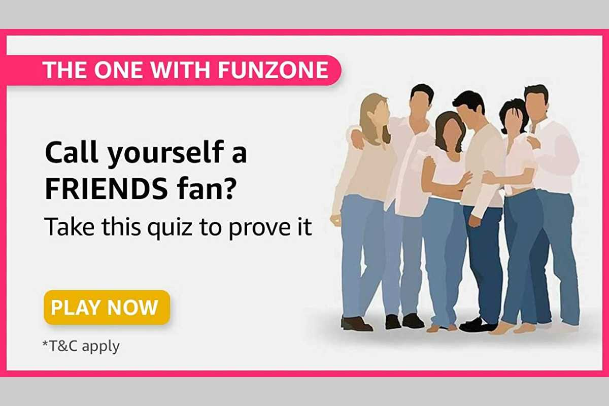 Amazon Friends (The One with Funzone) Quiz