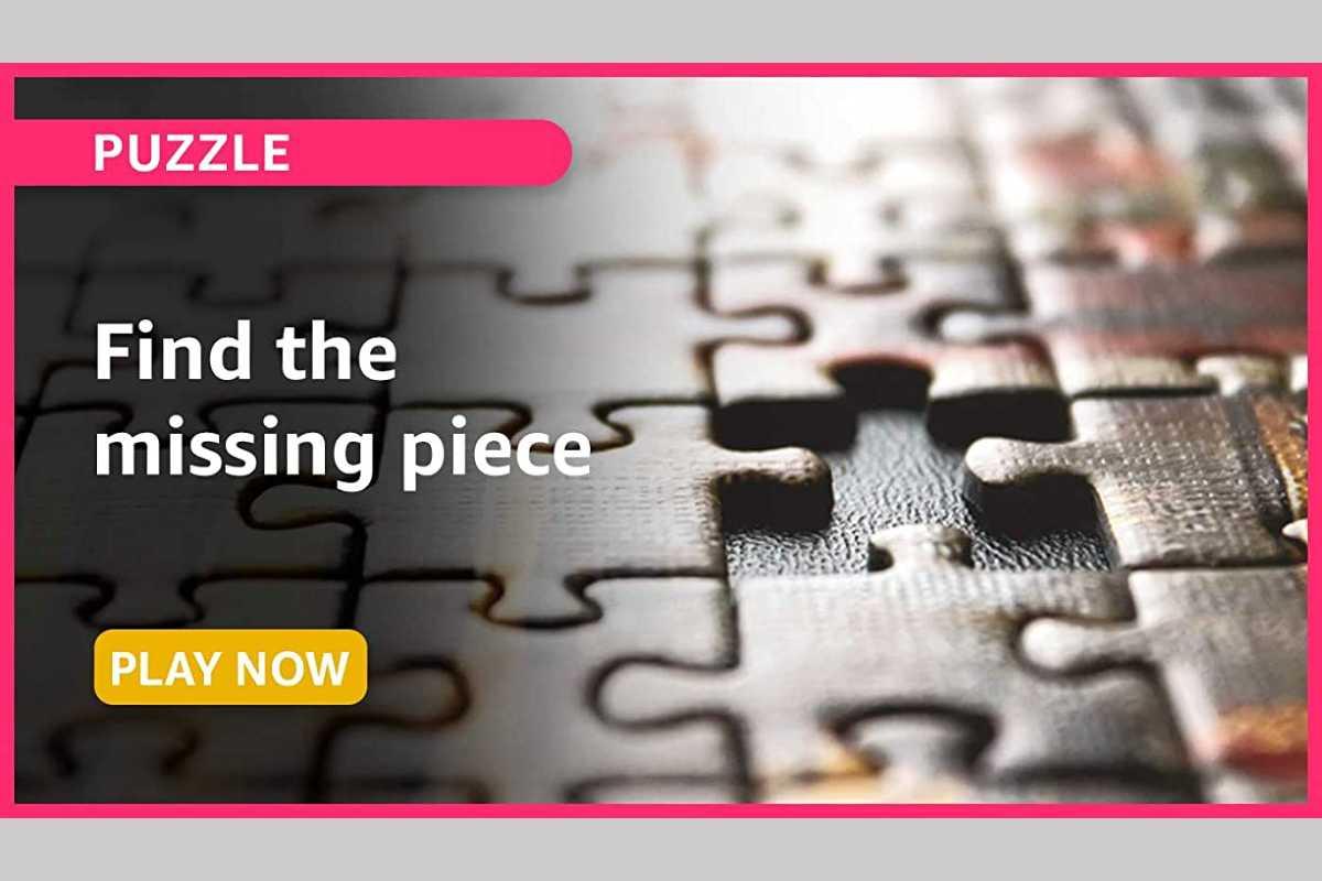 Amazon Funzone Puzzle Quiz