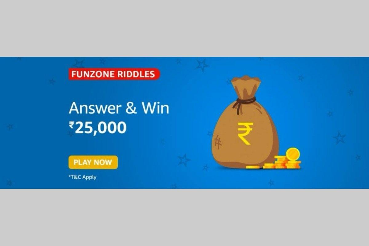 Amazon Funzone Riddles Quiz