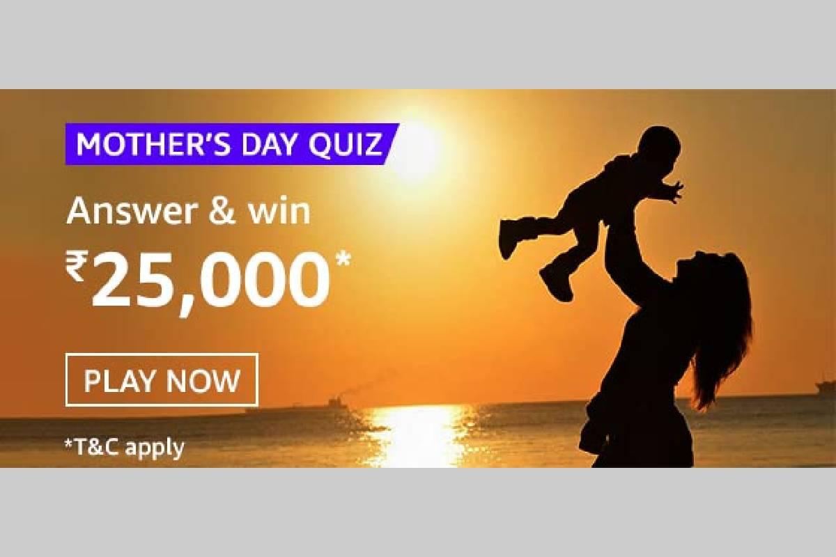 Amazon Mother's Day Quiz
